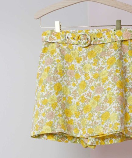 celia short faithfull the brand floral