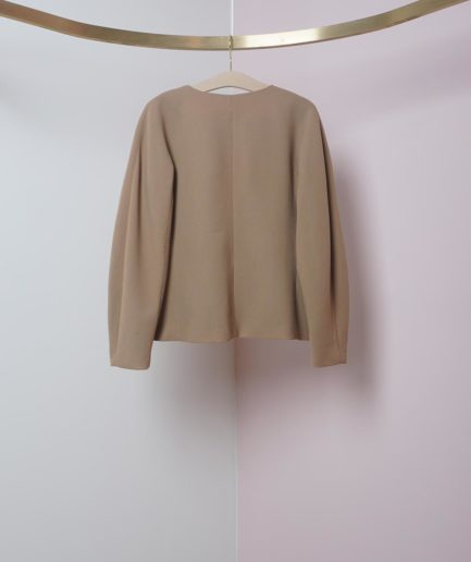 veste en laine beige on atlas