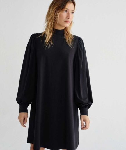 robe courte manches longues longues thinking mu