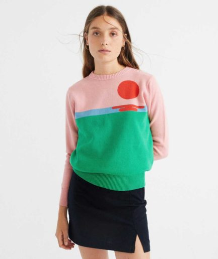 pull sunset thinking mu en coton bio