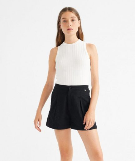 short noir narciso Thinking Mu