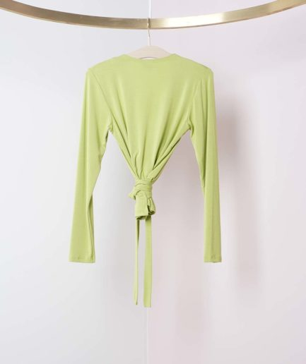 cache coeur lime bamboo by basics