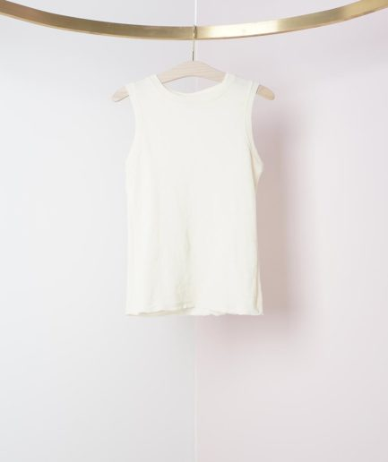 pull fin sans manches laine merinos by basics